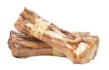 Gerookte kalfspoot met vlees