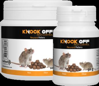 Knock Off Reward Pellets voor muizen & ratten