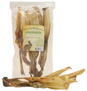 Gedroogde Konijnenoren 100 gram