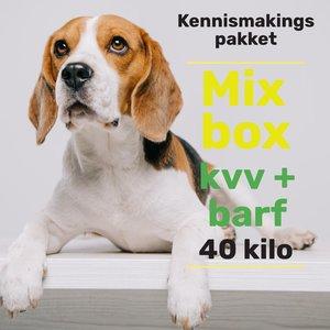 Kennismakingspakket KVV+BARF 40kg