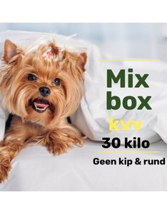 Mix pakket zonder Kip & Rund 30 kilo