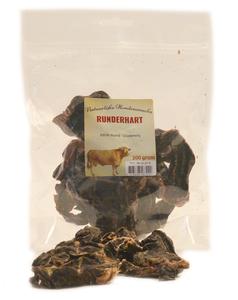 Gedroogde Runderhart stukken 200 gram