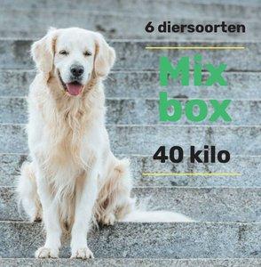 6 dieren mix pakket 40 kilo