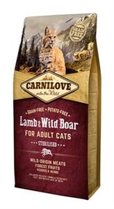 Carnilove Lamb &Wild Boar Sterilsed 2 kg
