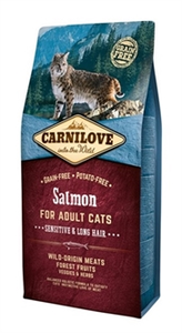 Carnilove Salmon Sensitive &Long Hair 2kg