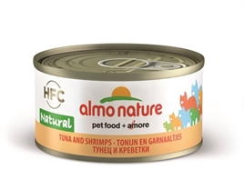 Almo Nature Cat Tonijn & Garnalen 70 gr