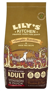 Lily's Kitchen Duck,Salmon &Venison 7 kg