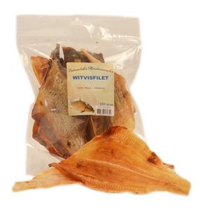Witvisfilet Gedroogd 150 gram