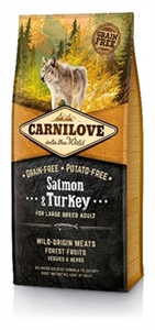 Carnilove Salmon &Turkey Adult