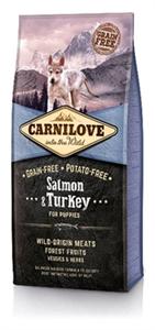 Carnilove Puppy Large Salmon & Turkey 12 kilo